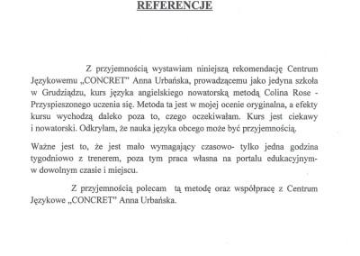 Rekomendacja firmy Prima Grudziądz